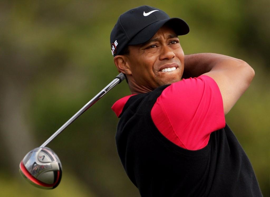 deficiência de Tiger Woods