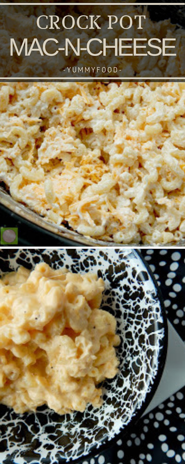 CROCK POT MAC-N-CHEESE