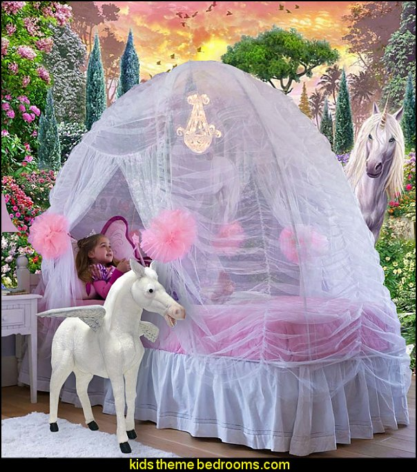 Unicorn Bedroom Wallpaper Murals Princess Beds Unicorn Theme Bedrooms