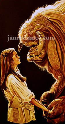 The Geeky Nerfherder: Movie Poster Art: Labyrinth (1986) Labyrinth 1986 Ludo