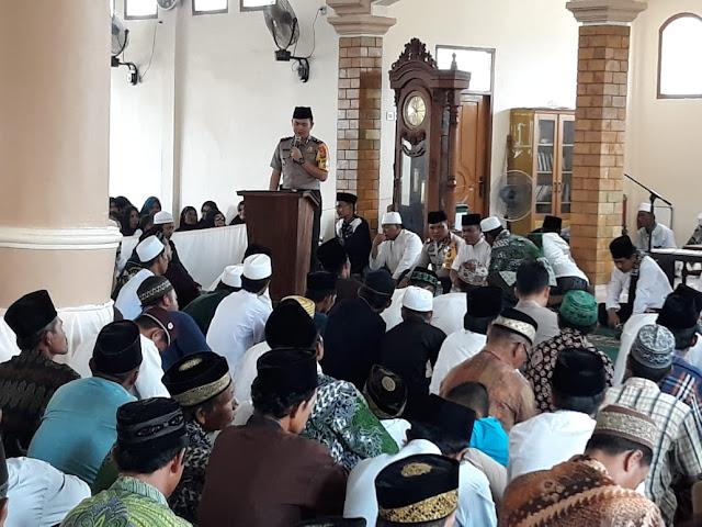 Polsek Makarti Jaya Gelar Istiqosah Akbar
