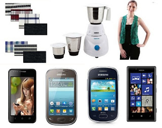 HomeShop18 Super Deal : Samsung Galaxy Star S5282 for Rs.4549, Nokia Lumia 720 for Rs.15495, Mafatlal 7 Pcs.  Shirt & Trouser Length Shirting for Rs.1499  & more