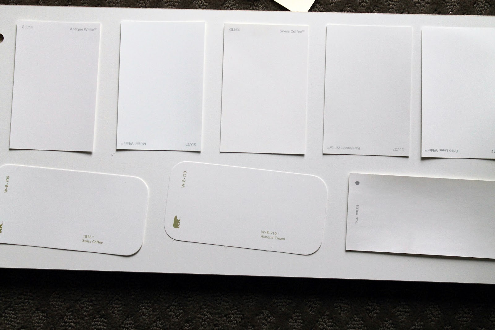 The First Time I Struck Out And So Re Gathered All My Very Close To Ikea White Paint Samples Try Again
