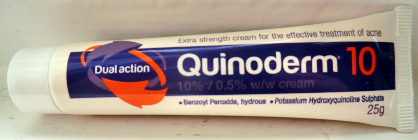 Obat Penghilang Jerawat Memakai Quinoderm Cream