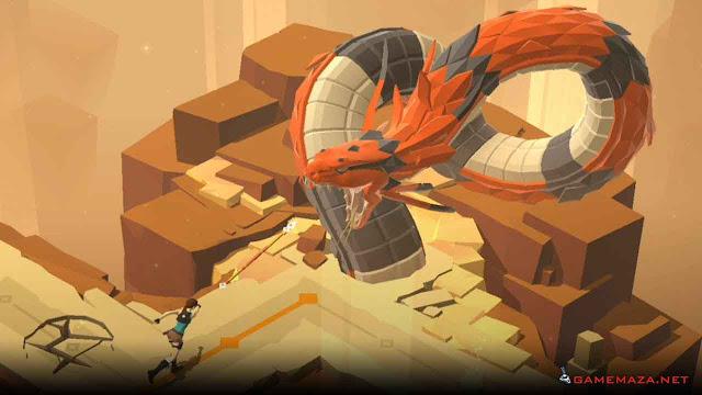 Lara Croft Go Gameplay Screenshot 2