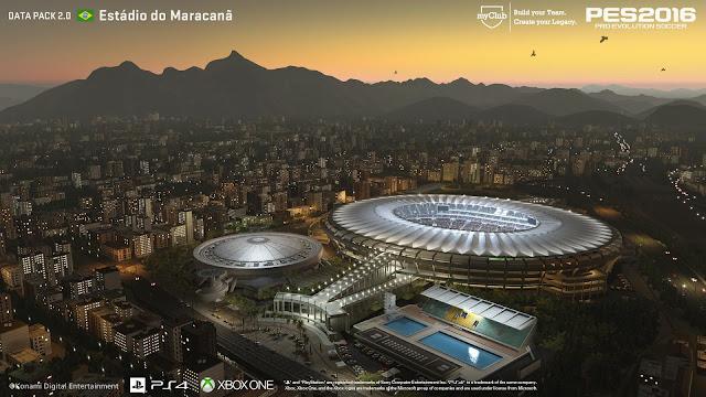 data pack 2.0 Estadio do maracana