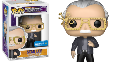 Stan Lee. Sus cameos como figura Pop!