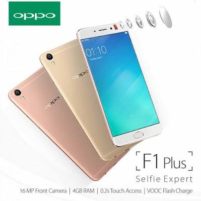 Smartphone OPPO F1 Plus