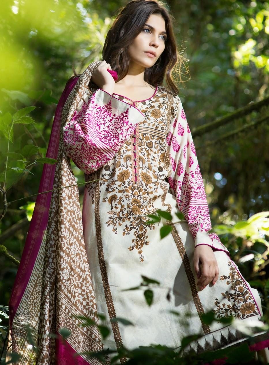 Sana Safinaz Lawn Collection&Spring-Summer /www.fashionwearstyle.com