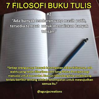 Kata-Kata Bijak Filosofi Buku Tulis