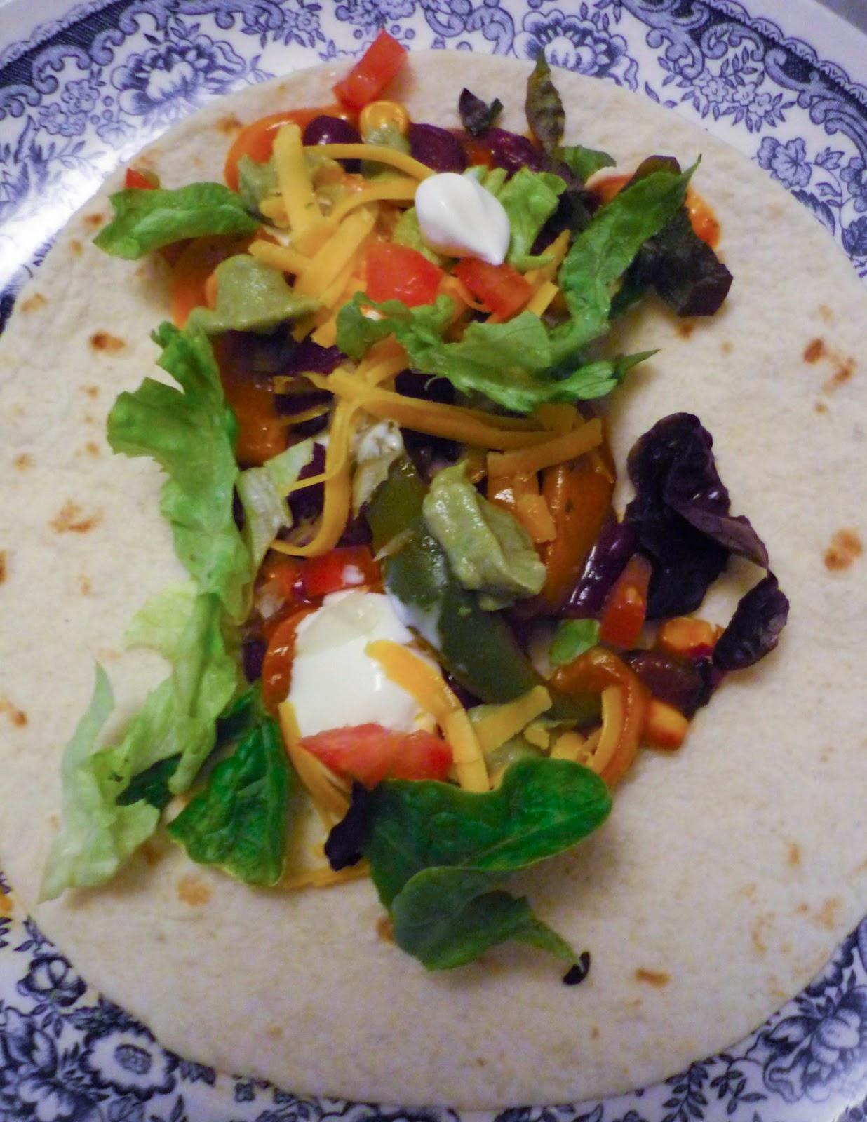 La Bonne Graille: Fajitas végétariennes