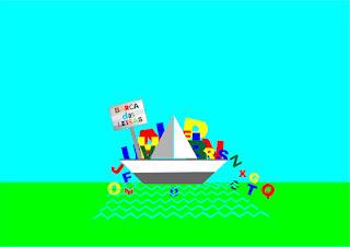 Resultado de imagem para barca das letras logo