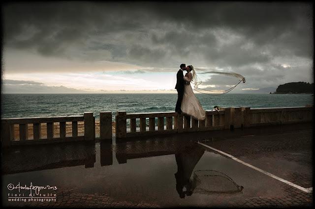 foto matrimonio spiaggia mare Celle Ligure