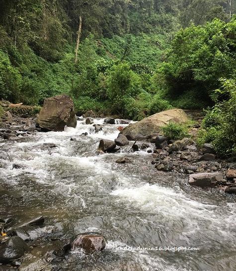 Coban Tengah, Air Terjun Yang Kaya Akan Alamnya