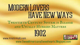 Kristin Holt | Modern Lovers Have New Ways 1902