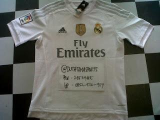 Jual Jersey Bola Real Madrid di Batam