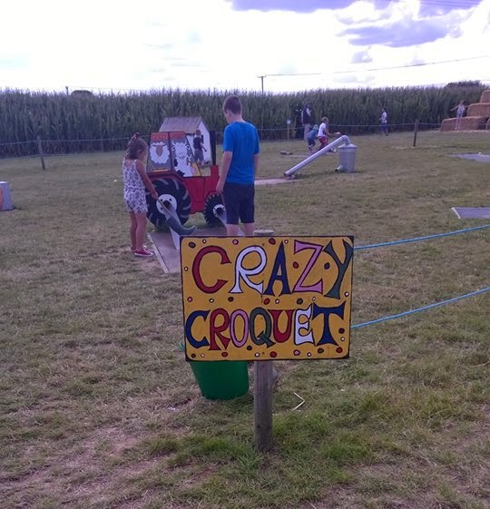 Crazy Croquet at Hemsby Mega Maze in Norfolk