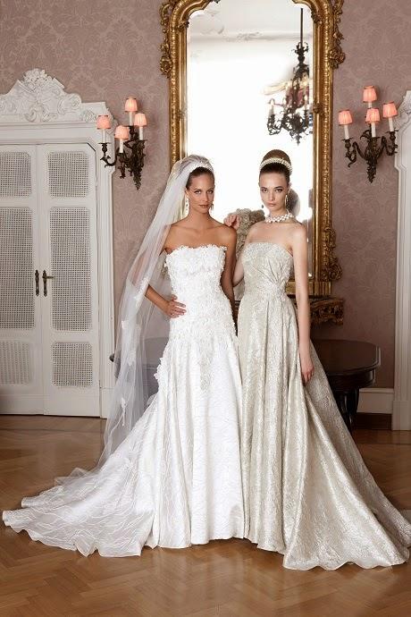 b241e9f029f4 Le nuove collezioni di abiti da sposa 2015 esprimono più che mai questa  capacità e lo spirito artistico della griffe. Mai si perde di vista  l eleganza ...