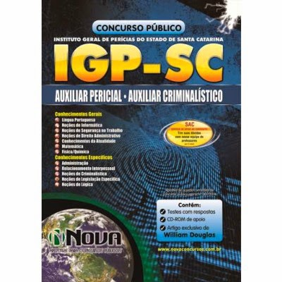 Apostilas para Concursos IGP SC 2014