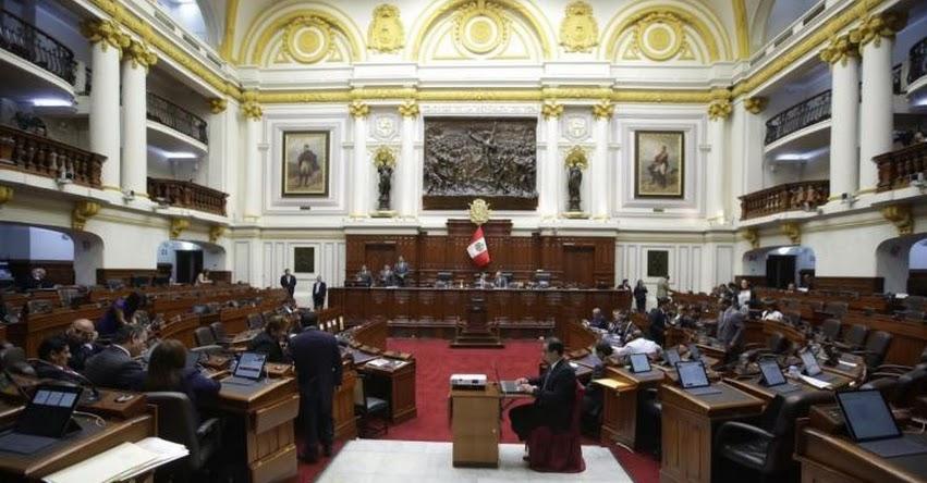 Pleno del Congreso continuará hoy viernes debate sobre presupuesto público 2019