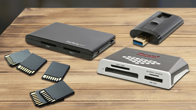 SD card reader on the test: You should consider this when buying
