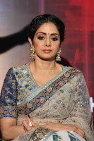 Sri Devi in designer saree stunning beauty at the launch of MOM movie Trailer~  Exclusive 028.JPG