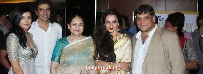 Deeksha Seth, Imtiaz Ali, Rekha, Arif Ali