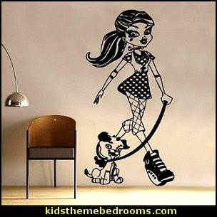 Monster High Frankie Stein Decal Vinyl Wall Sticker