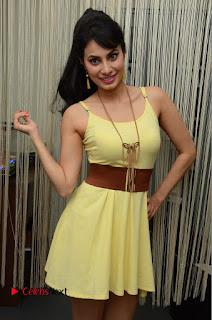 Actress Manisha Kelkar Latest Picture Gallery in Yellow Short Dress  0067.JPG