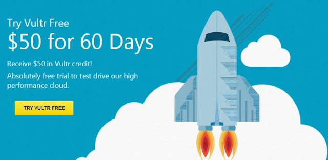 Vultr Free $50 for 60 Days-Vultr Coupon 2015