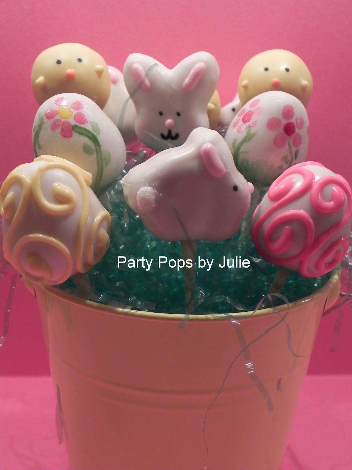 Nashville S Party Pops By Julie 2012 Easter Cake Pop Assortment