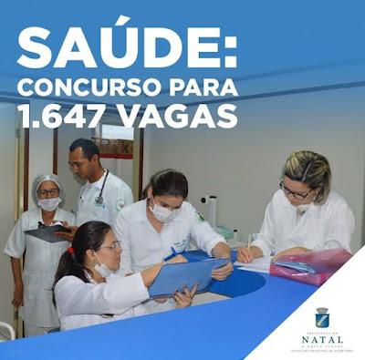 Resultado de imagem para SECRETARIA DE SAÚDE DE NATAL DIVULGA RESULTADO FINAL DE CONCURSO PÚBLICO