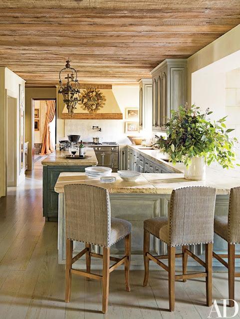 Kara Childress French country Houston kitchen - found on Hello Lovely Studio
