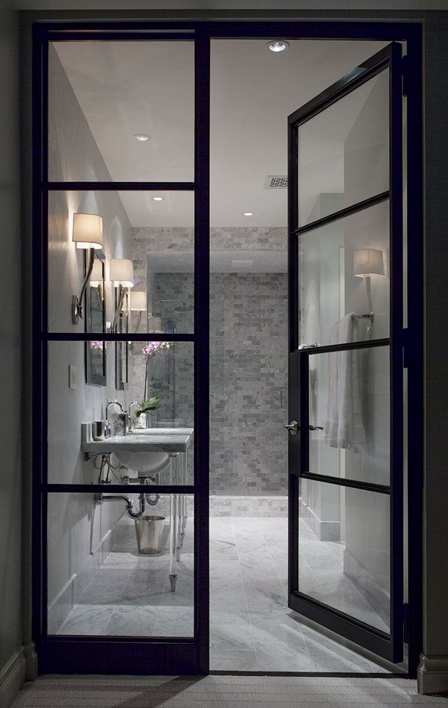 Bathroom Door Inspiration Design
