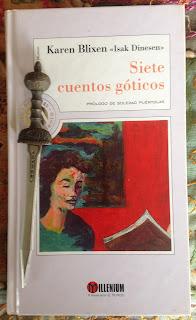 Portada del libro Siete cuentos góticos, de Isak Dinesen