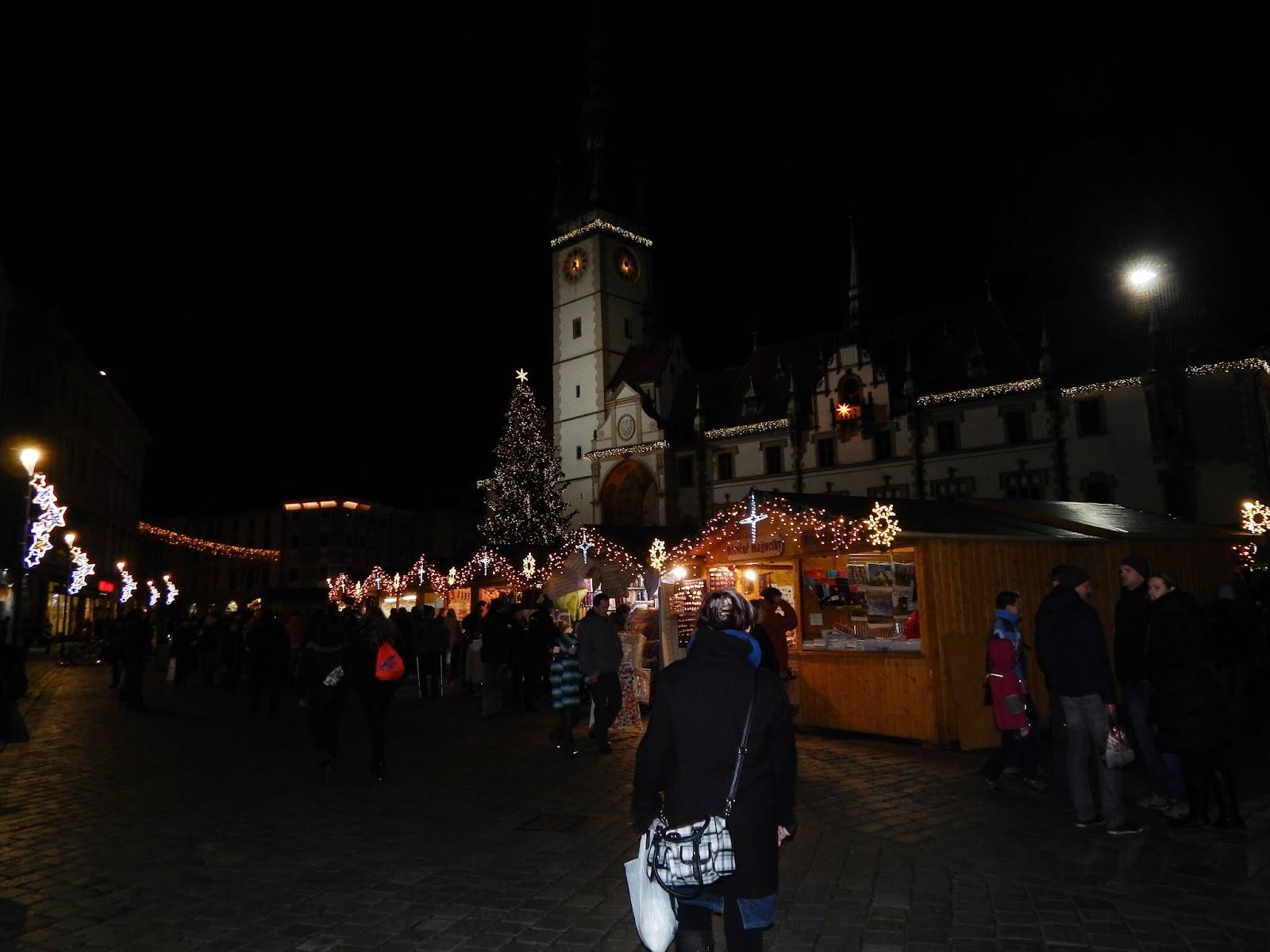 Vánoční náměstí v Olomouci