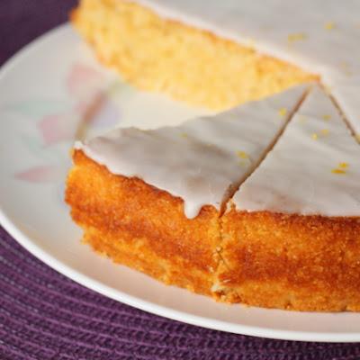 Torta od limuna sa kokosom i palentom