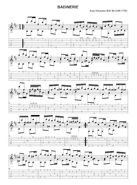 Johann Sebastien Bach - Badinerie