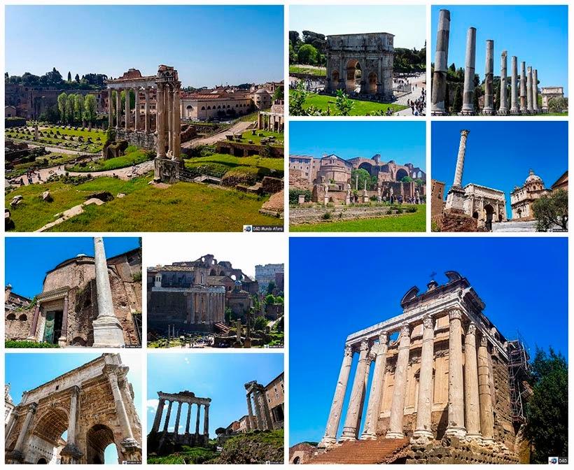 Fórum Romano - Diário de Bordo: 3 dias em Roma