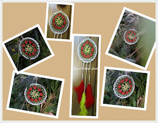 free crochet dream catcher pattern, free sunlight catcher pattern