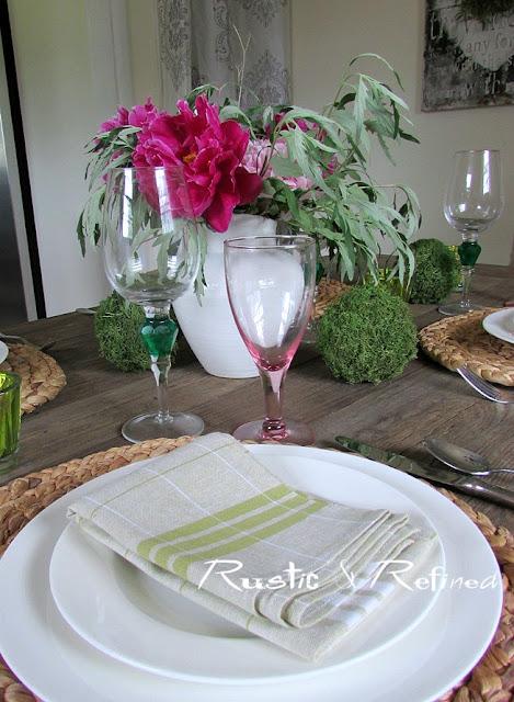 Rustic & Refined Tablescape