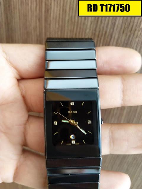 Đồng hồ nam mặt chữ nhật Rado RD T171750