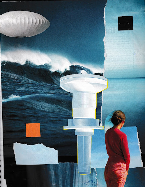 It's In The Water - collage by douglas brent smith, (c) 2006