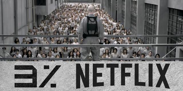 3% Netflix Brasil