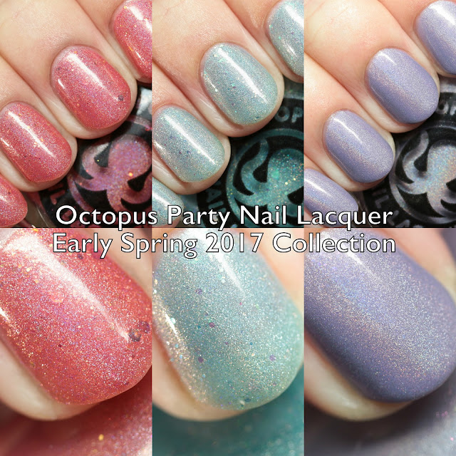 Octopus Party Nail Lacquer Early Spring 2017 Collection