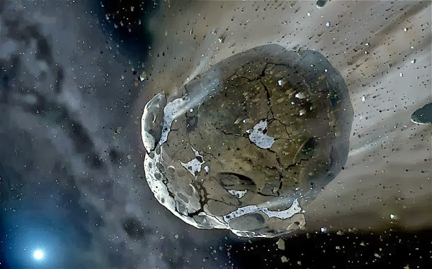 where did asteroids come from - photo #24