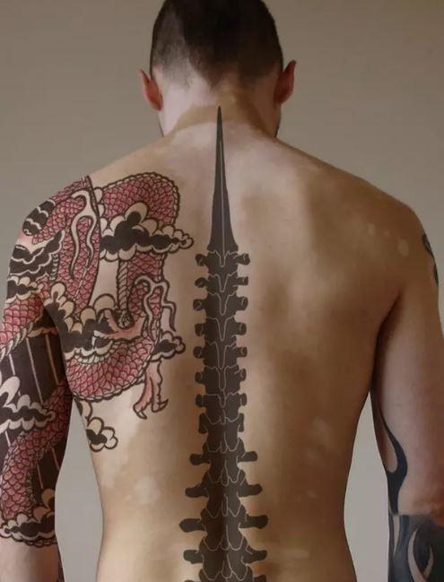 Spine Tattoos