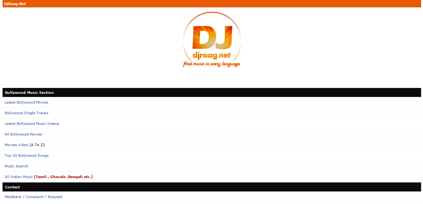 the country like india where music is very popular djraag is the best place to download free mp3 music