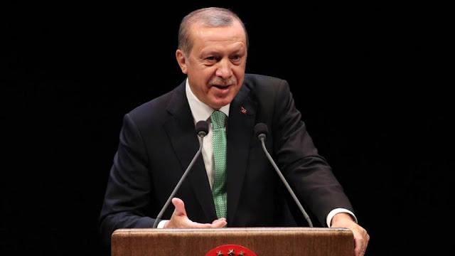 Erdogan critica las protestas contra Trump