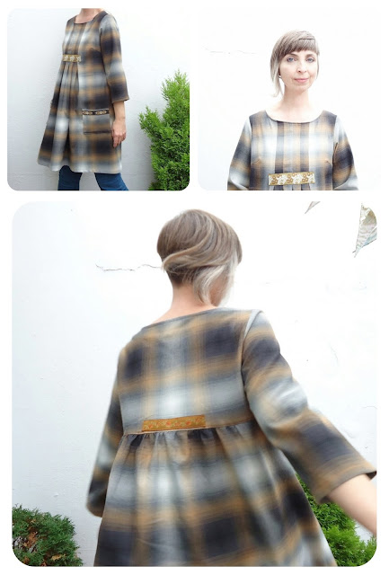 Stylish Dress Book: E - plaid tunic dress